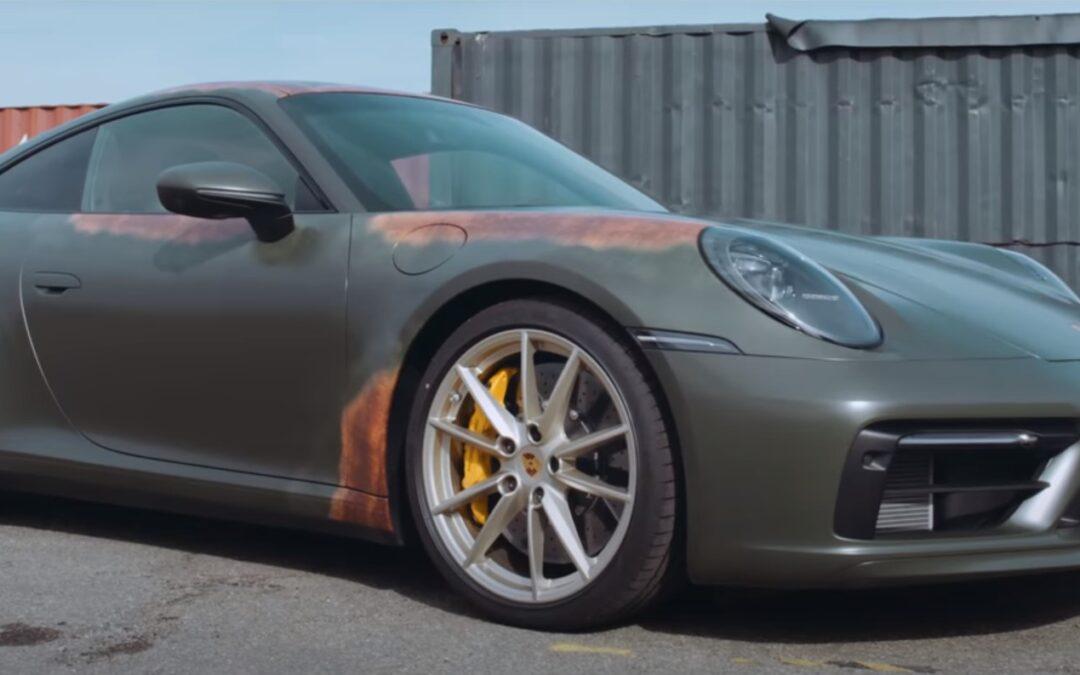 Ολοκαίνουργιες «σκουριασμένες» Porsche: Vintage ή Fail;