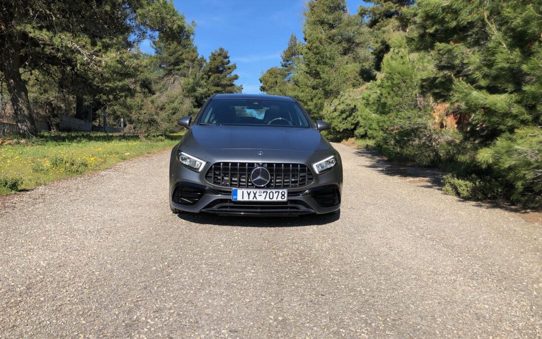 Exocet με 421 ίππους θυμίζει η Mercedes AMG A 45 S 4 Matic+