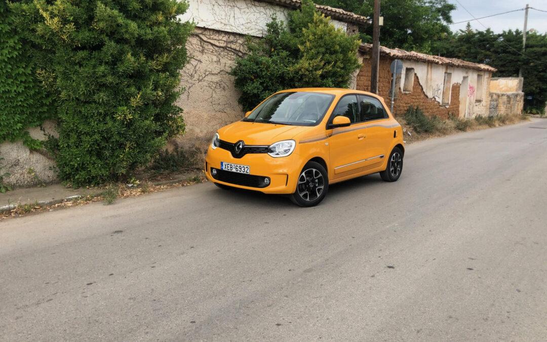 Δίνει χρώμα στην πόλη το Renault Twingo
