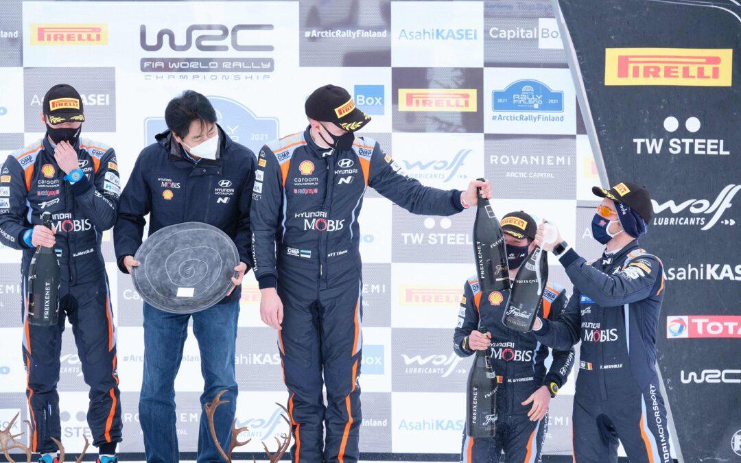 Σενάρια τέλος, Tanak και Neuville ανανέωσαν με τη Hyundai Motorsport