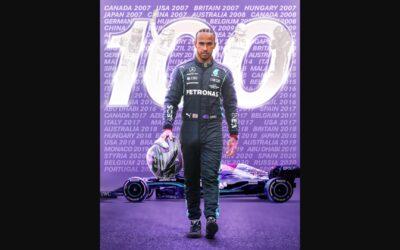 Formula 1-Γκραν Πρι Ισπανίας-Κατατακτήριες: 100 pole positions για τον Hamilton
