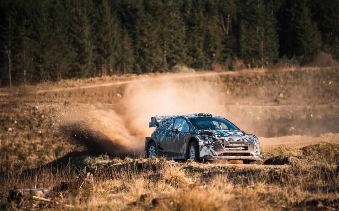 WRC: Το 2022 ξεκίνησε για το Ford Fiesta Rally1 hybrid (video)