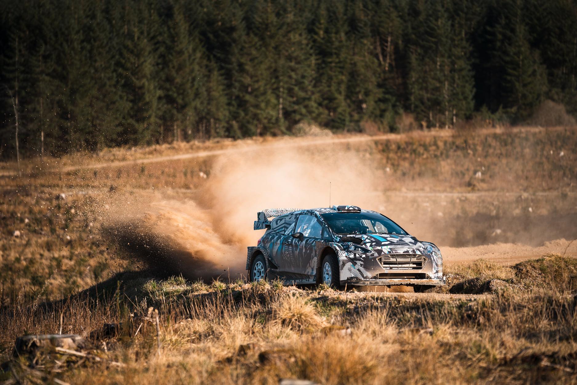 WRC: Το 2022 «έρχεται» πιο νωρίς για το Ford Fiesta Rally 1 hybrid (video)