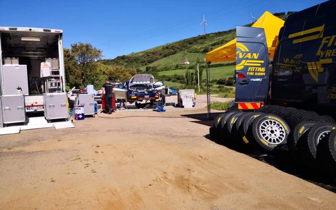 WRC, ράλι Πορτογαλίας, δοκιμές για τον Gryazin