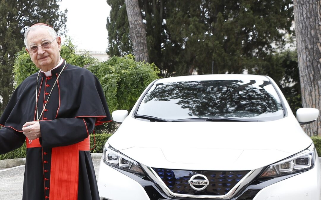 Πώς το Βατικανό δίνει την ευλογία του στην ηλεκτροκίνηση;