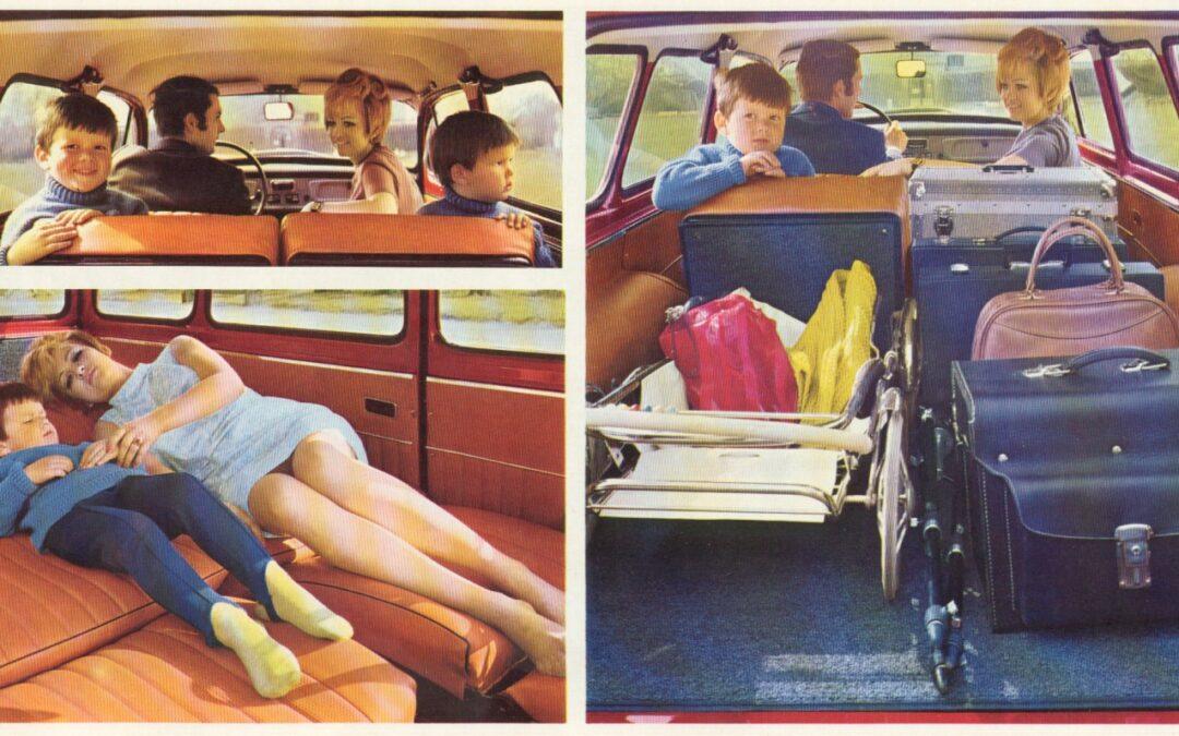 Ποιο αυτοκίνητο μετατρέπονταν σε κρεβατοκάμαρα πριν 60 χρόνια;