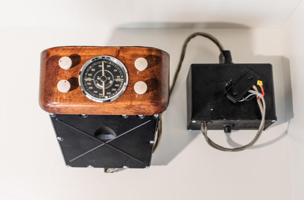 Το πρώτο ραδιόφωνο αυτοκινήτου στον κόσμο!
