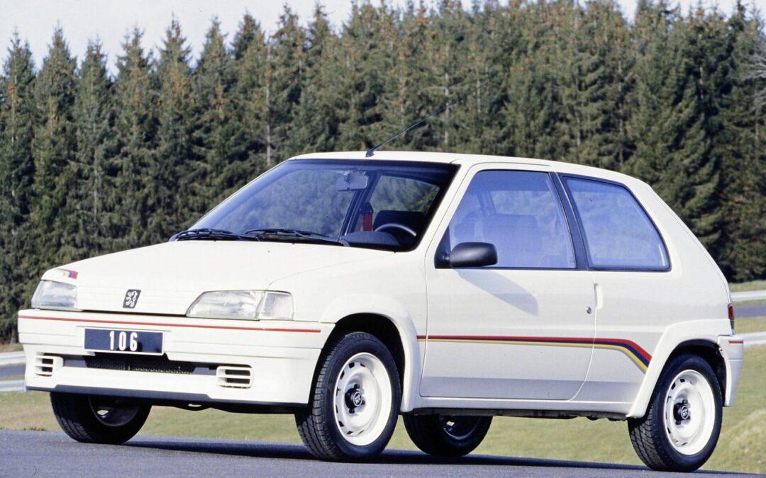30 κεράκια για το baby Peugeot της 10ετίας του 1990
