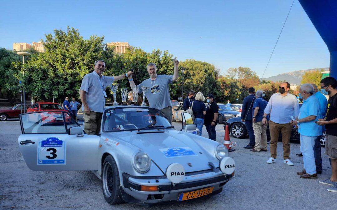 Οι Crucifix-Caldeira νικητές στο Διεθνές Historic Acropolis Regularity Rally