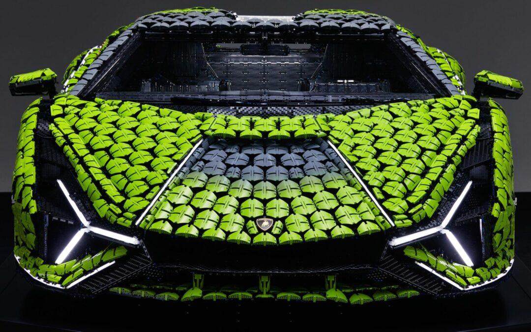Πάνω από 8.660 ώρες χρειάστηκαν για να χτιστεί αυτή η Lamborghini! Αν τρακάρει θα διαλυθεί αμέσως σε 400.000 κομμάτια