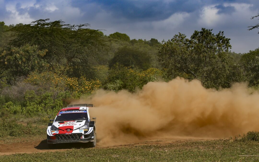 WRC, ο Ogier ταχύτερος στο shakedown στο ράλι Αφρικής