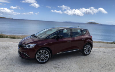 Για τις διακοπές σας, σας περιμένει το Renault Scenic 1.3 TCe