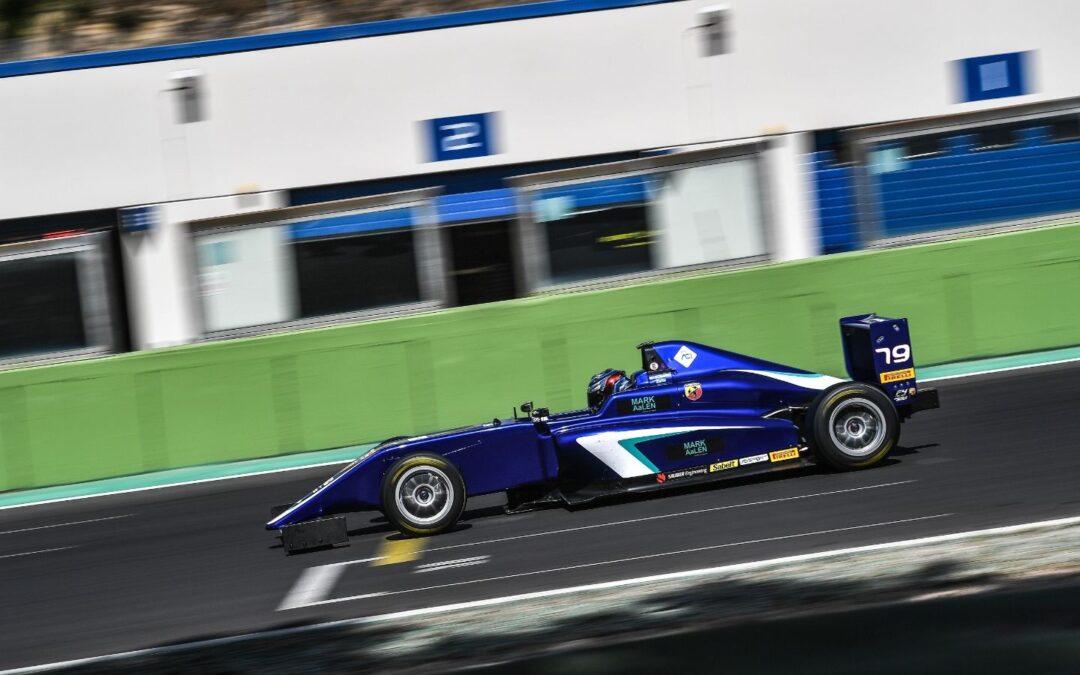 O Mαρκογιάννης στην πίστα Vallelunga για το ιταλικό πρωτάθλημα της F4