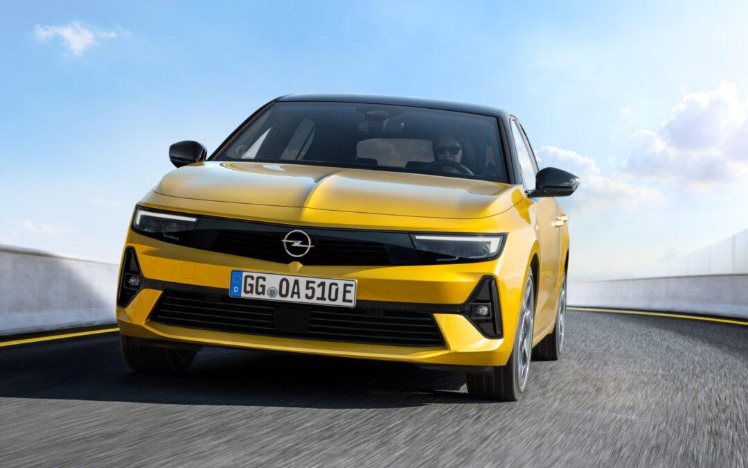 Μόλις έφτασε το ολοκαίνουριο Opel Astra