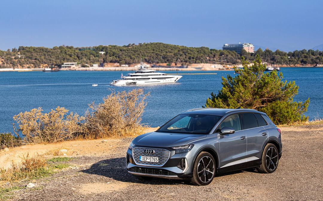 Οδηγούμε το νέο Audi Q4 e-tron: Το ηλεκτρικό Premium SUV των 39.469 ευρώ
