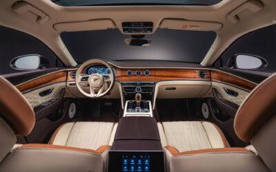 Πατάκια από μαλλί αρνιού στο εσωτερικό της Bentley Flying Spur Hybrid