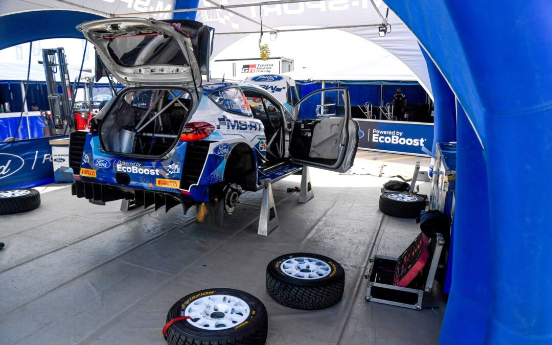 WRC, ράλι Εσθονίας, πόσα ελαστικά έχει η Pirelli στη διάθεση των πληρωμάτων