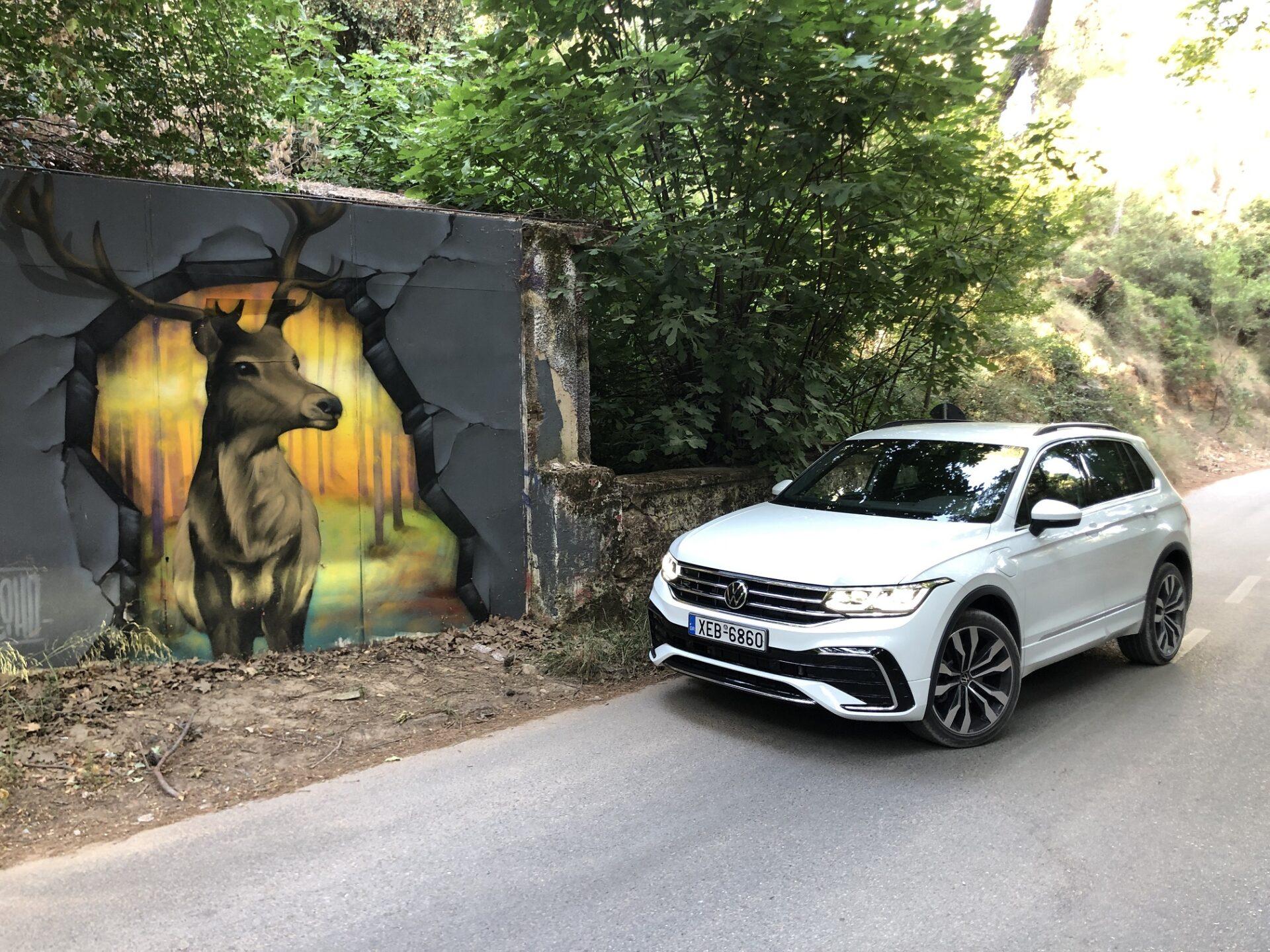 Στο τιμόνι του Volkswagen Tiguan 1.4 eHybrid R Design