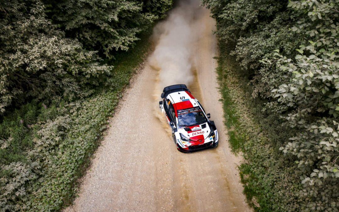 WRC, ράλι Εσθονίας 1ο σκέλος, ο Rovanpera μεν, αλλά