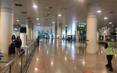 Αεροδρόμιο Βαρκελώνης: «Έρημο» και «σκοτεινό»