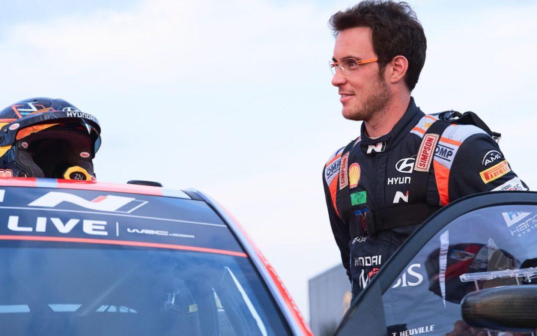 WRC, φτηνά τη γλύτωσε ο Neuville στο ράλι Εσθονίας