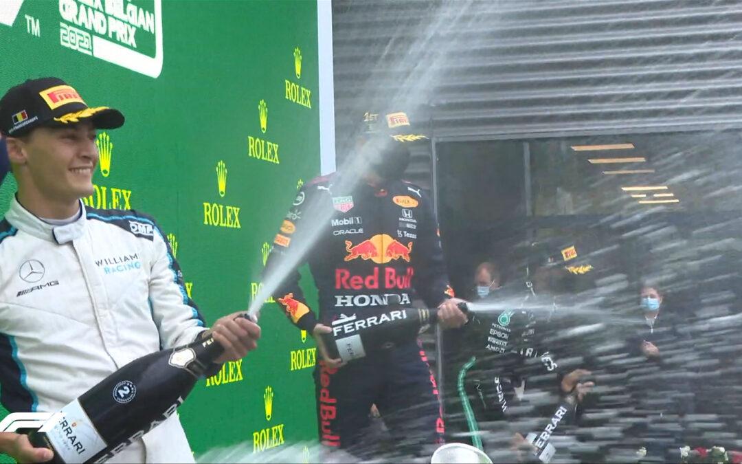 Formula 1-Γκραν Πρι Βελγίου: Νίκη Verstappen και βάθρο Russell στον πιο σύντομο αγώνα στην ιστορία της Formula 1