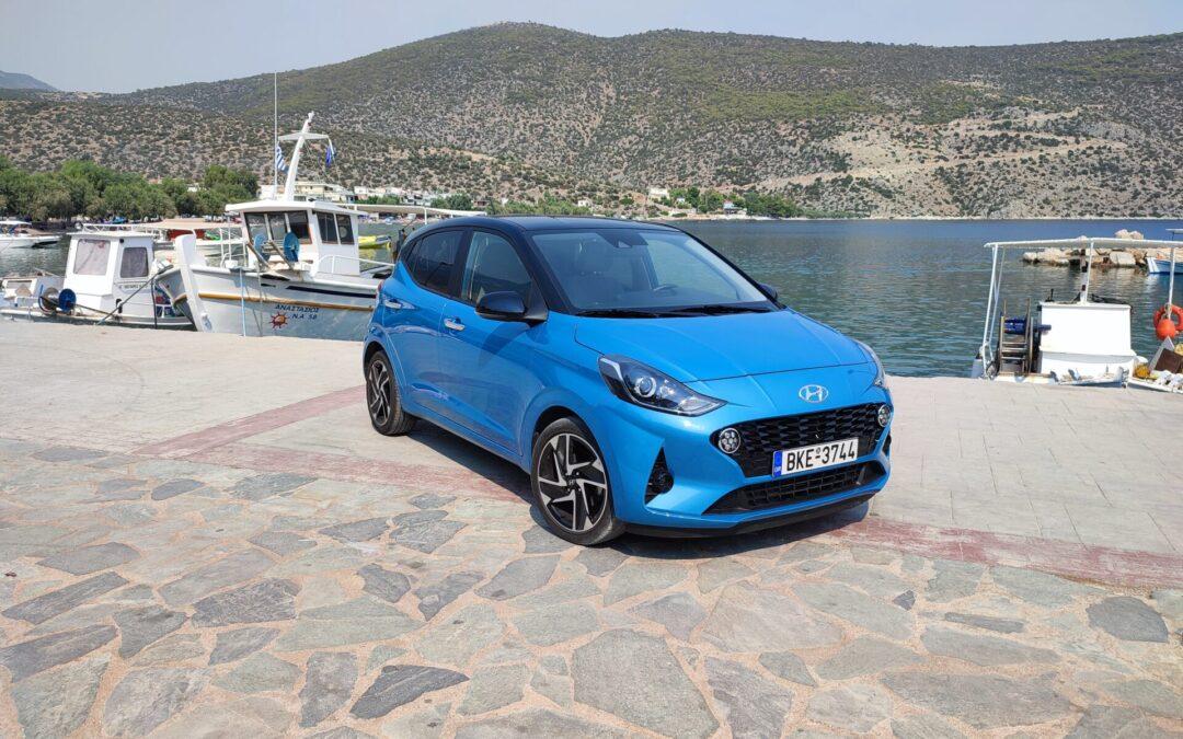 Οδηγούμε το αυτόματο Hyundai i10 των 67 ίππων! Το ευκολότερο σύνολο στα 12.390 ευρώ
