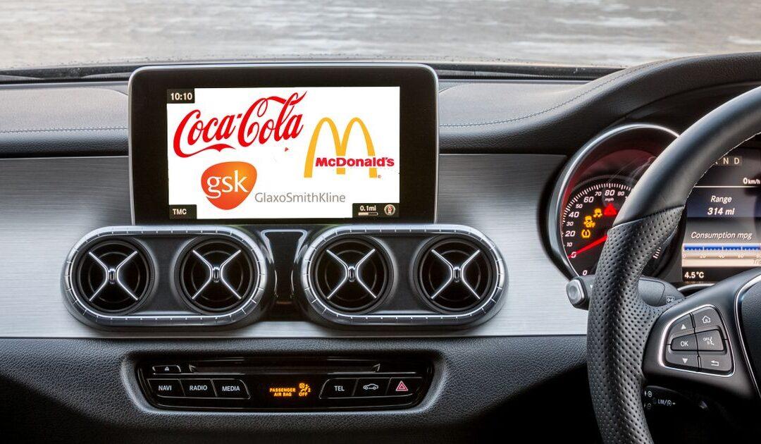 Έρχονται διαφημίσεις στο infotainment του αυτοκινήτου με αντάλλαγμα δωρεάν ίντερνετ!