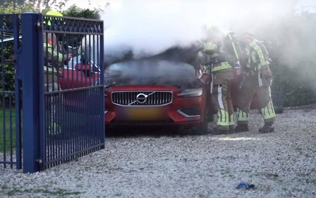 Δύο Plug-in υβριδικά Volvo λαμπάδιασαν κατά την φόρτιση! (+Video)