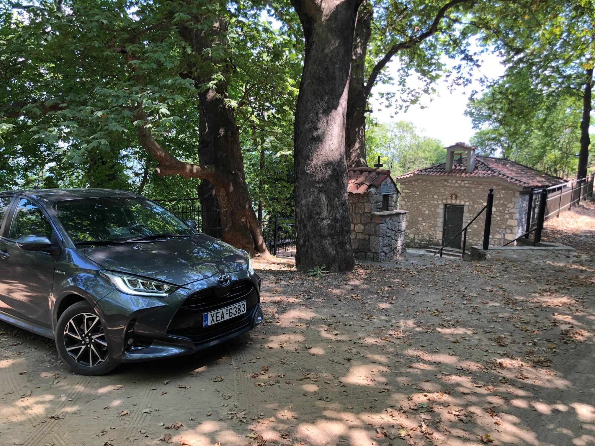 Με το Toyota Yaris Hybrid σε μέρη του EΚΟ Ράλλυ Ακρόπολις