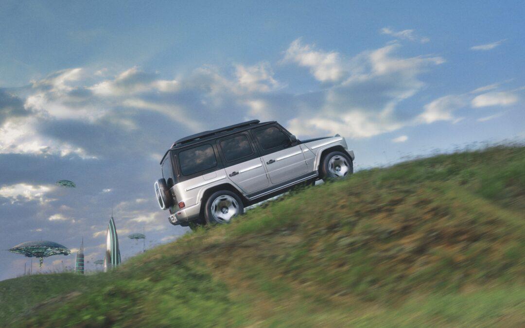 Θηρίο που σκαρφαλώνει βουνοκορφές χωρίς στάλα καυσίμου η νέα Mercedes EQG Concept (video)