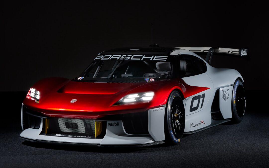 Πύραυλος με 1.100 ίππους και 300 χλμ./ώρα τελική η νέα ηλεκτρική Porsche Mission R (video)