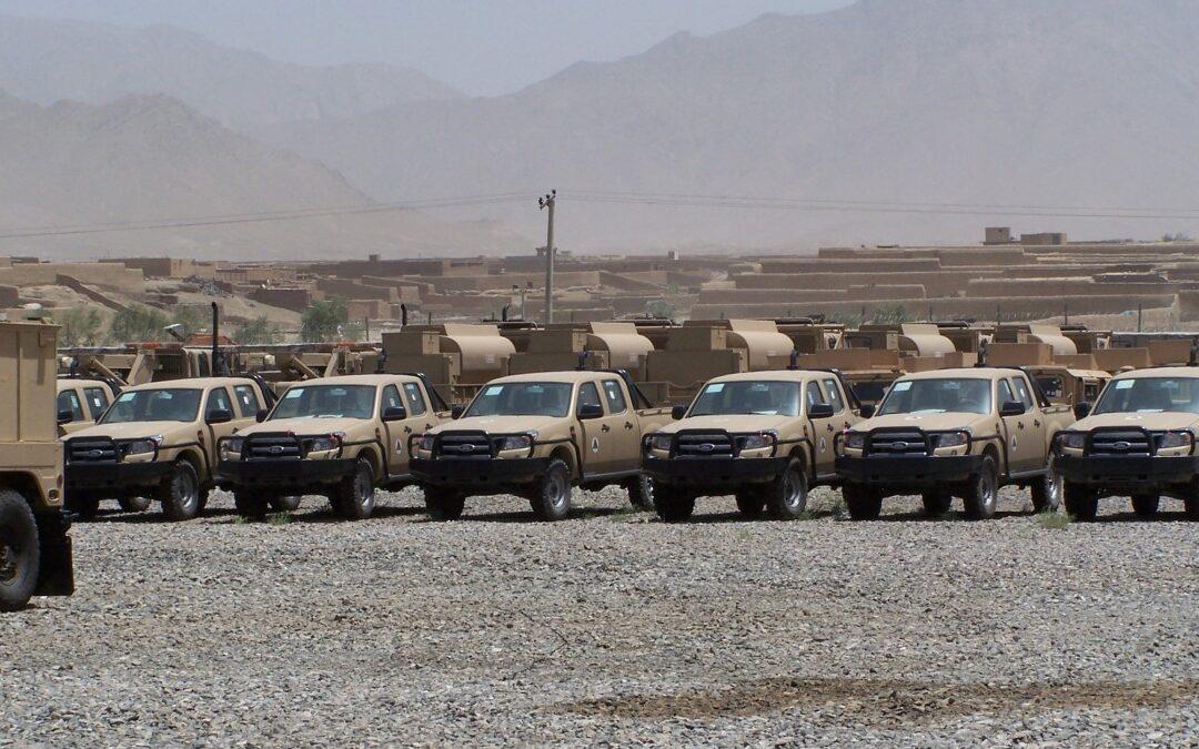Χιλιάδες Ranger και Hummer άφησαν οι Αμερικανοί στο Αφγανιστάν