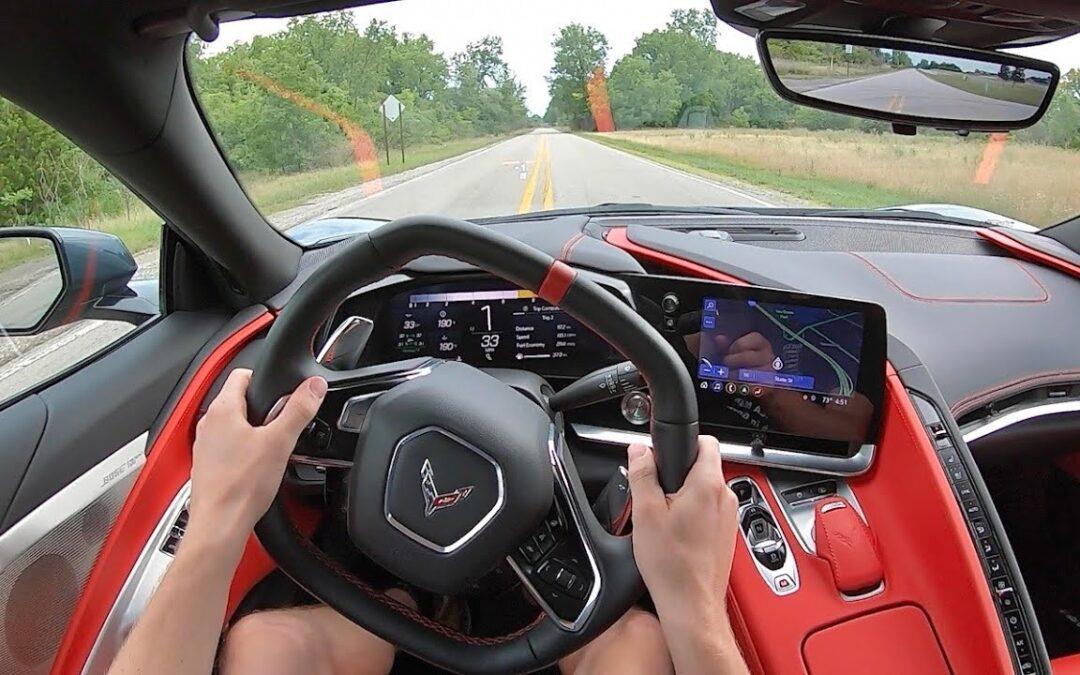 Κλεφτρόνι πήγε για test drive Corvette αντιπροσωπείας και εξαφανίστηκε! (Video)