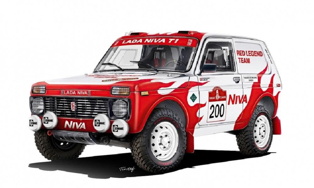 Νομίζεις ότι Lada Niva του 1984 κάνει μόνο για το χωράφι; Λάθος, θα τρέξει στο ράλι Ντακάρ!